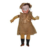 All Original Petite Bisque Head Doll
