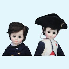 2 Madame Alexander dolls, Napoleon and Laurie