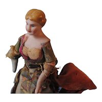 Dollhouse Lady With Bun