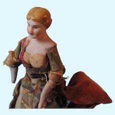 Dollhouse Lady With Bun