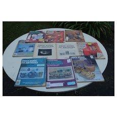 10 Price Guides With Focus Articles......Quimper,Stoneware,Nippon,etc