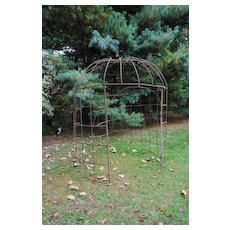 French Iron Gazebo....19th c......Create An Outdoor Room!