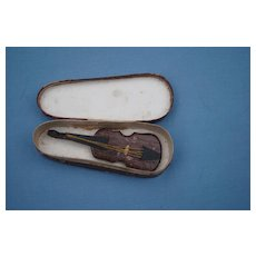 French Fashion Violin In Case