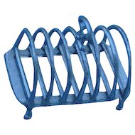 19th c.Toast Rack..... German Pot Metal