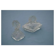 Art Deco 2 Piece Dresser Set