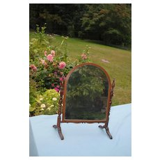 Large 19th c. French Cheval Mirror