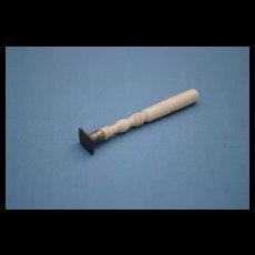 19th c. French Fashion Bone Handled Sealing Wax Stamp
