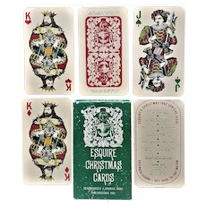 Esquire Christmas Playing Cards - 1962 - Jubilee Issue
