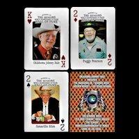 Senior Poker Players Playing Cards