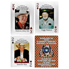 Senior Poker Players Playing Cards
