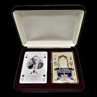 2001-2002 Worshipful Company Double Deck Playing Cards - Bevis Mark Synogogue