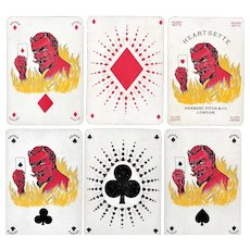 Game of Heartsette Playing Cards - 1882