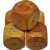 Set of 5 Large French Catalin Poker Dice - Ca.1930
