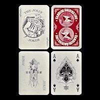 Hamburg Amerika Steamship Advertising Playing Cards - Ca.1925
