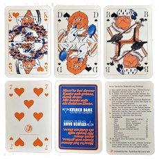 Kolner Bank advertising playing cards