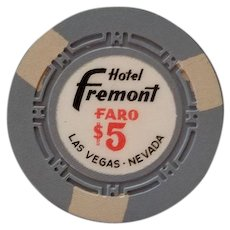 $5 Hotel Fremont Faro Chip