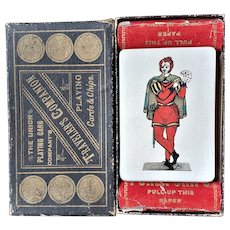 "The Union Playing Card Co. ""Traveler's Companion"" 1886"