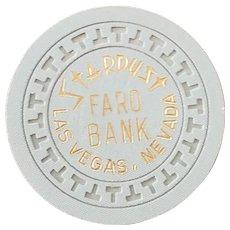 Stardust Faro Bank Chip - Green