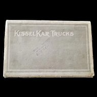 Five Automobile & Truck Brochures and Manuals