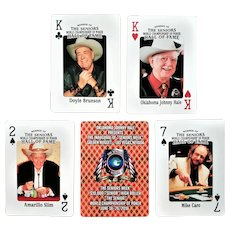 Great Poker Players Deck of Playing Cards