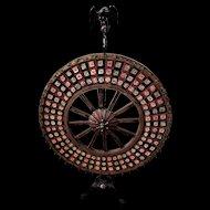 Folk Art Dice Wheel & Hazard Layout