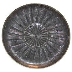 """R Lalique Epis Plate 11 1/2"""""""
