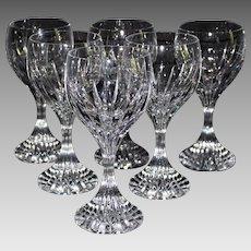Baccarat Massena Water Goblets - 6