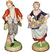 Beautiful Carl Thieme Dresden Figurines