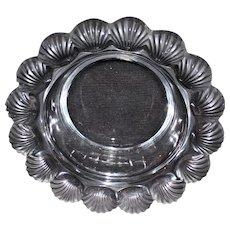 """Lalique """"Pornic"""" Scallop Shell Bowl"""
