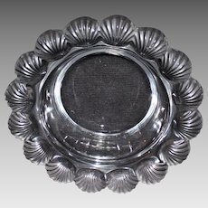 "Lalique ""Pornic"" Scallop Shell Bowl"