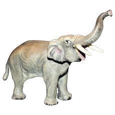 Austria Bronze Elephant With Trunk Up