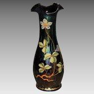 Beautiful Loetz/Rindskopf Art Glass & Enameled Vase
