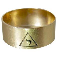 Masonic 14th Degree Scottish Rite 10K Rose Gold Ring