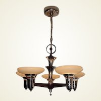 1930s Mid-Century Style Ceiling Fixture. 2+ available