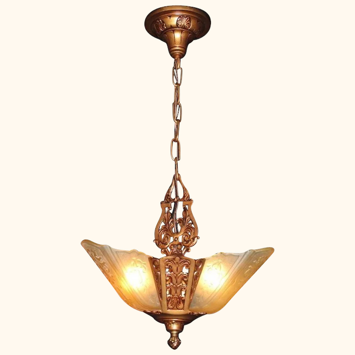 1930s Ceiling Light Shades Swasstech