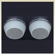 14 Inch Atomic Ranch Mid Century Flush Mount Large Ceiling Fixture 2 available priced each