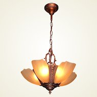 5 Slip Shade Ceiling Fixture by Puritan. 2+ available