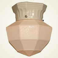 Typical 1920s Bungalow Ceiling Fixture