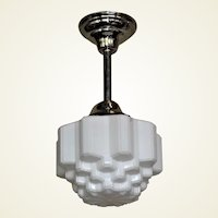 2 Mid-sized Deco Fixtures Priced Each