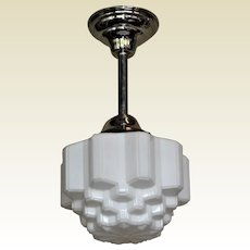 6 Mid-sized Deco Fixtures Priced Each