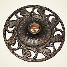 Cast Iron Flush Ceiling Fixture 12 available Craftsman style