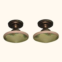 2 Matching Fixtures with Arts & Crafts Influence