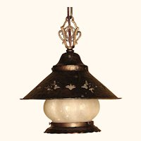 1920s - 30s Storybook Cottage Style Porch Light