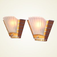 SINGLE ONLY Art Deco Theater Wall Sconces