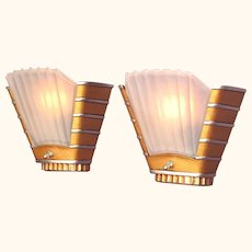 6 Art Deco Theater Wall Sconces