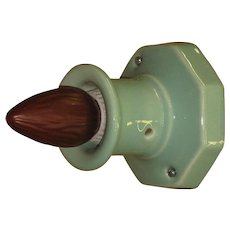 Seafoam Green Wall or Ceiling Fixture