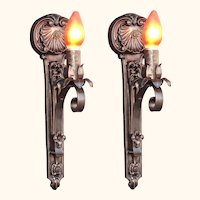 Moe Bridges Single Bulb Cast Iron Sconce 2 available priced each