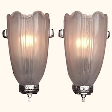 8 Deco Inspired Sconces 1930s