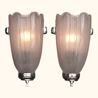 Deco Inspired Sconces 1930s