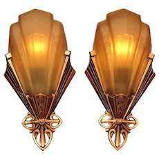Deco Inspired Sconces by Virden